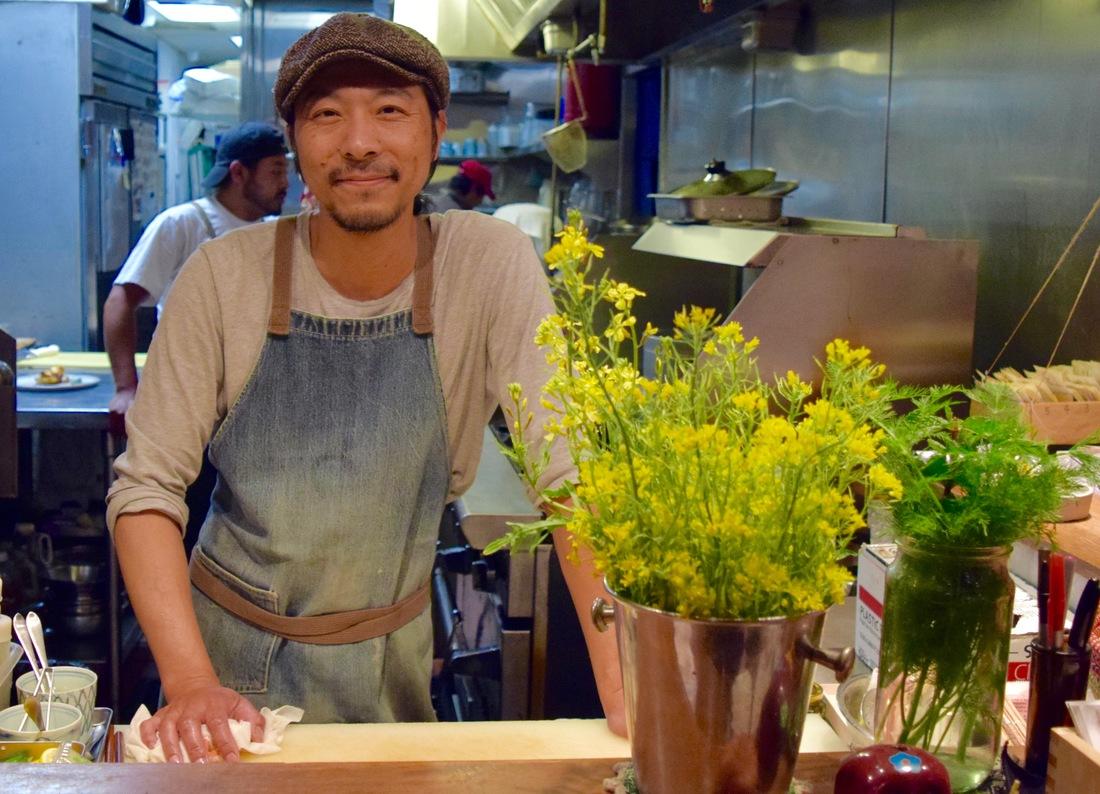 Chef Kenji Koyama at Necco