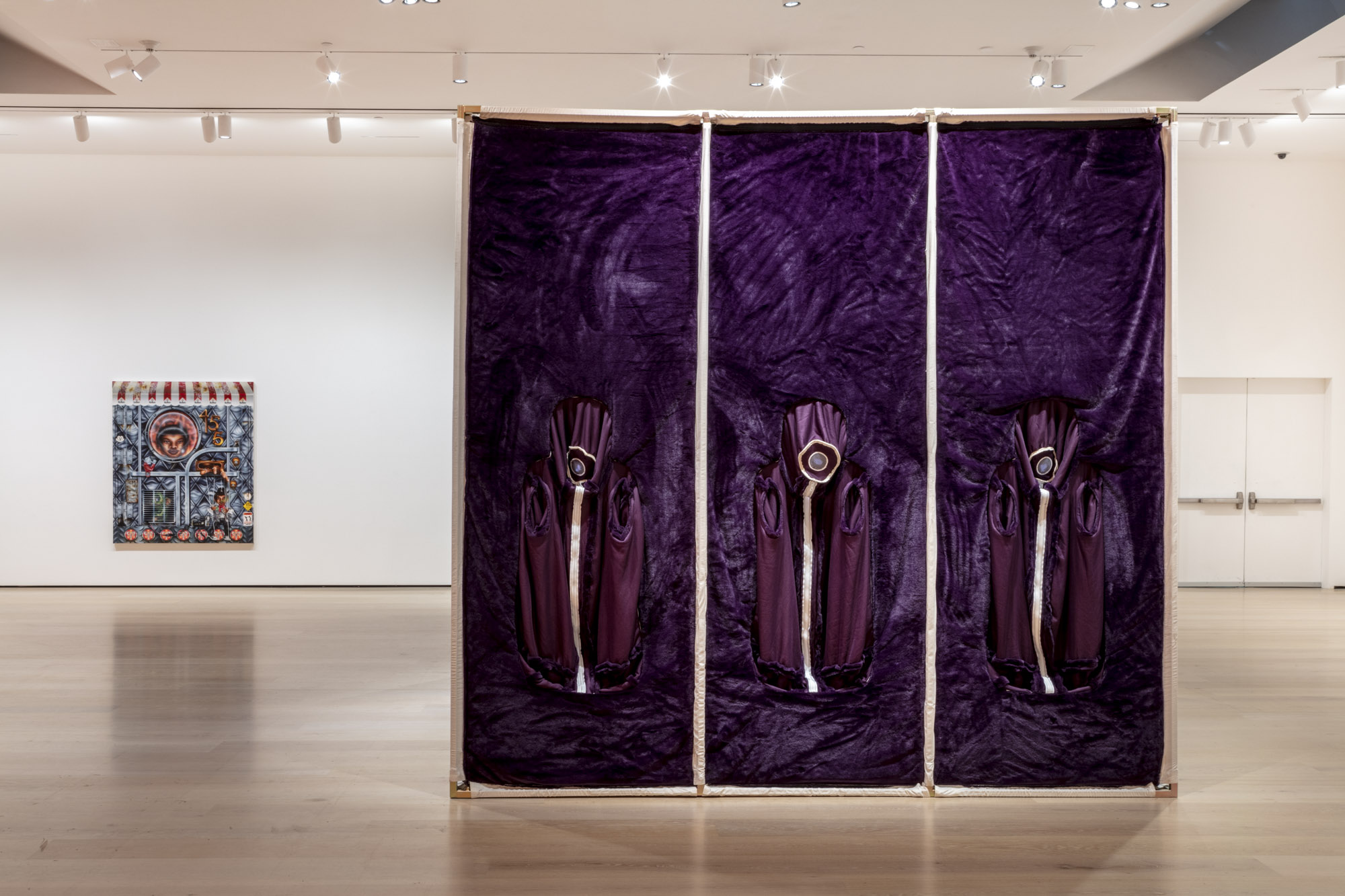 """An installation view of Nicola L.'s work at """"Made in L.A. 2020: a version."""" at Hammer Museum, Los Angeles. 