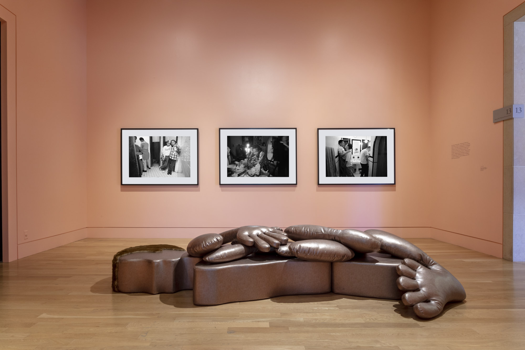 """An installation view of Nicola L.'s work at """"Made in L.A. 2020: a version"""" at The Huntington Library, Art Museum, and Botanical Gardens, San Marino. 