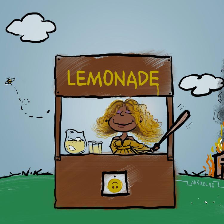 """""""Lemonade"""" Beyonce by Nikkolas Smith."""