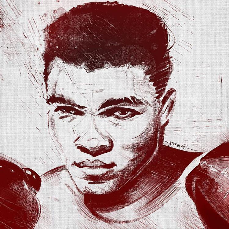 Nikkolas Smith portrays boxing legend Muhammad Ali.