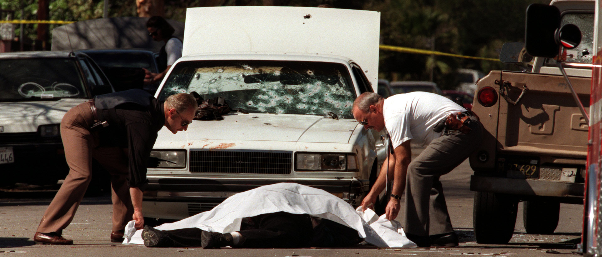 Officers Remember 1997 North Hollywood Shootout   KCET