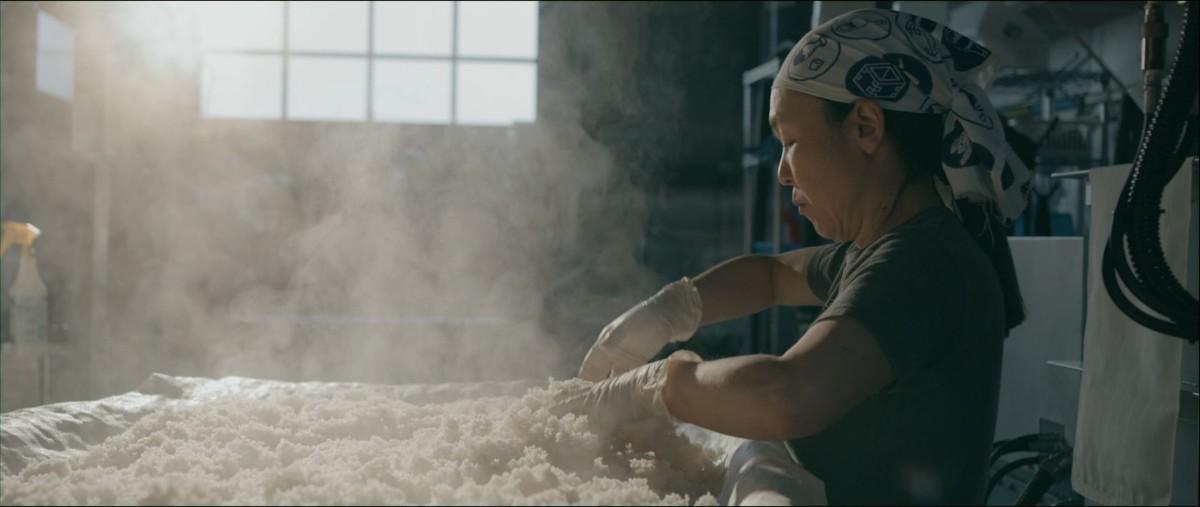 "Noriko Kamei | Still from ""The Migrant Kitchen"" Sequoia Sake MKs3"