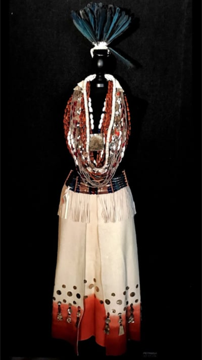 Northern Chumash dancing regalia | Courtesy of Leah Mata