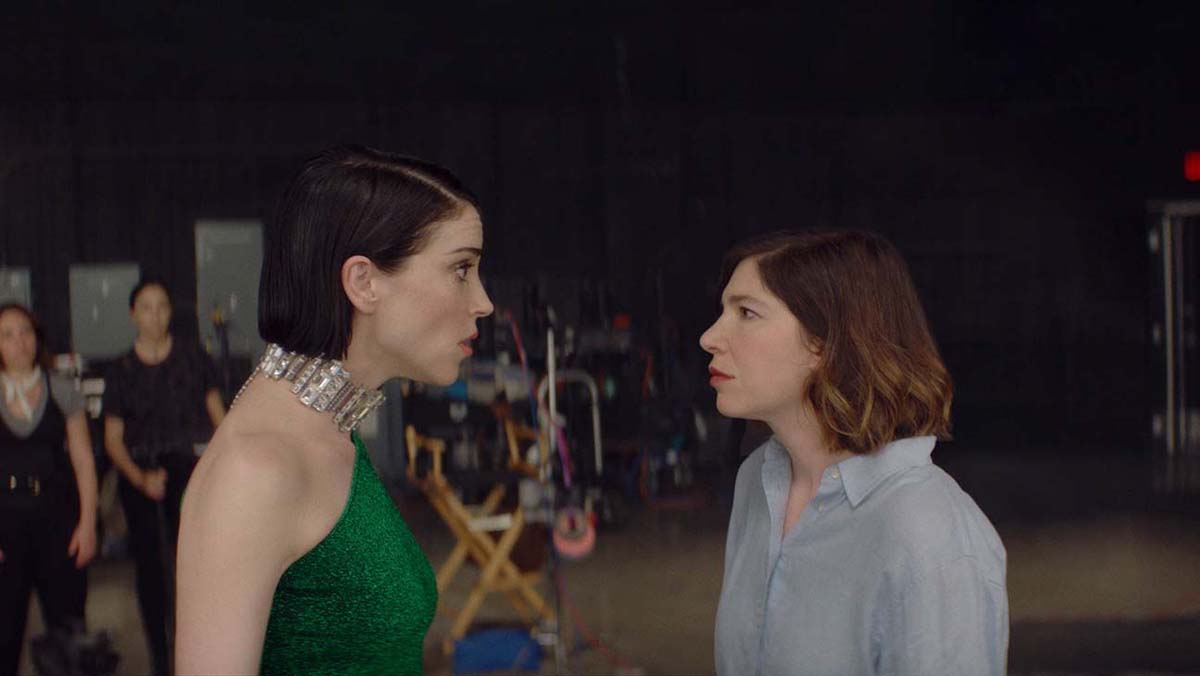 """Annie Clark and Carrie Brownstein wrote and star in the mockumentary, """"The Nowhere Inn."""" 