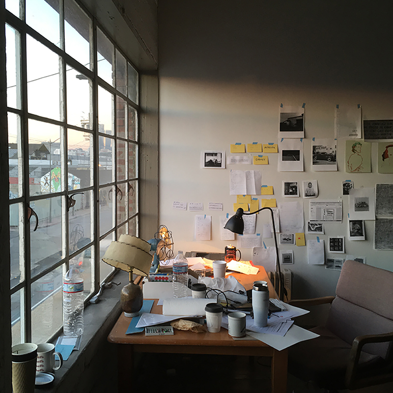 Sam Sweet's workspace