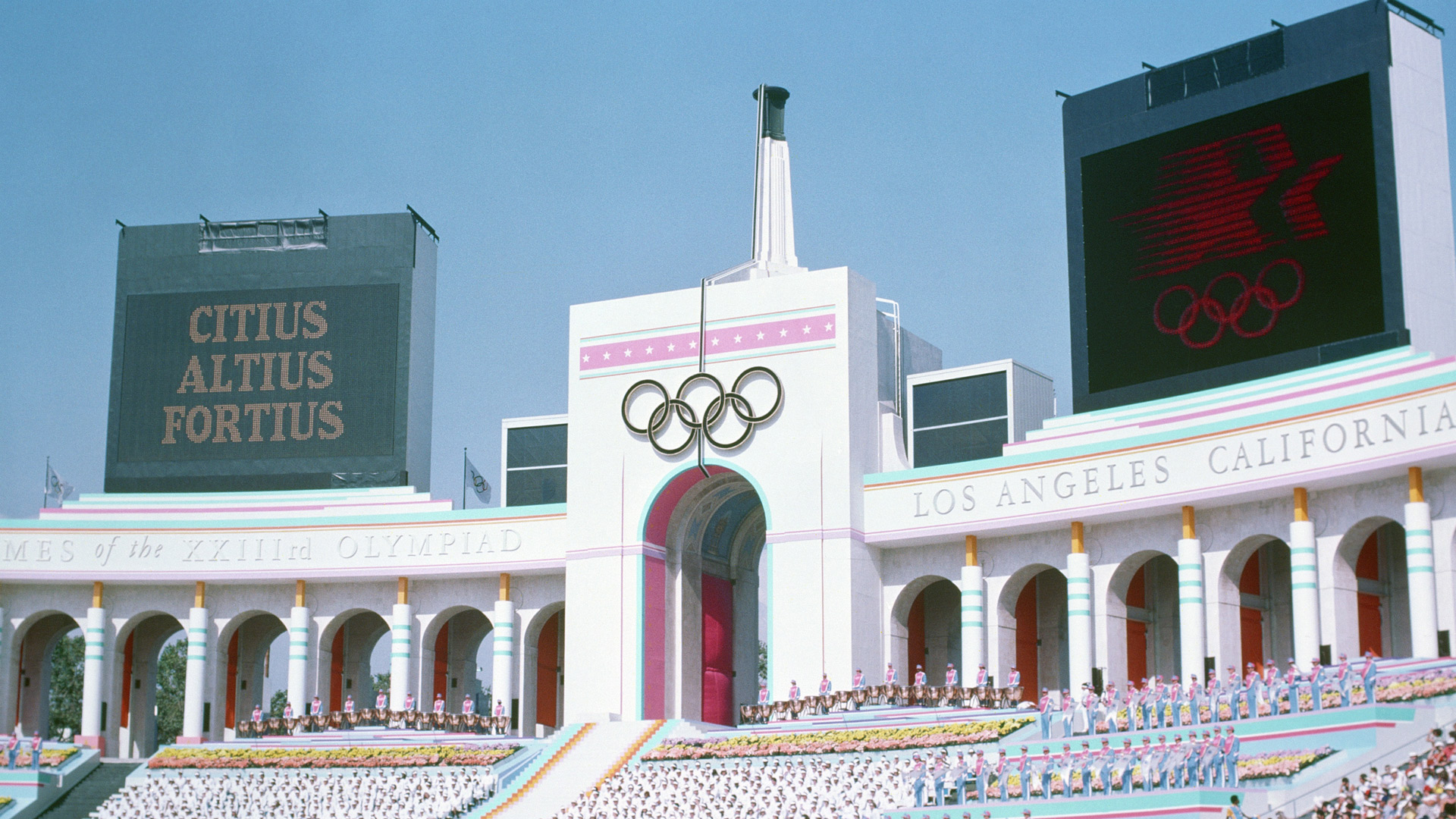 olympic coliseum los angeles 1984