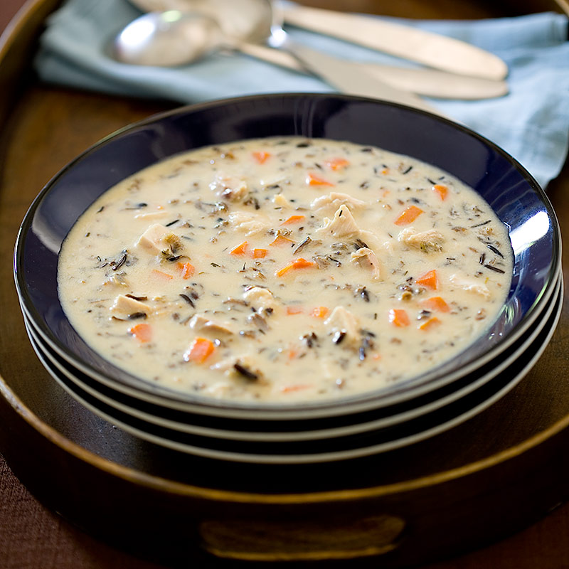 Weekend Recipe Creamy Turkey And Wild Rice Soup Kcet