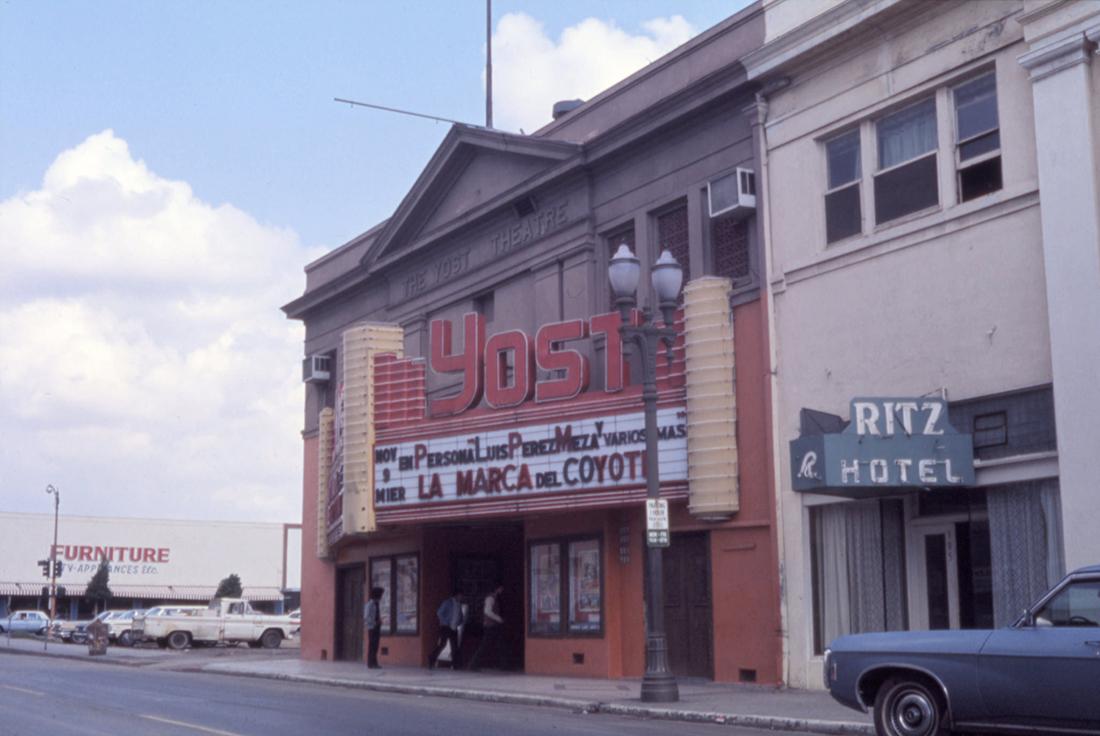 Yost Theatre in Santa Ana