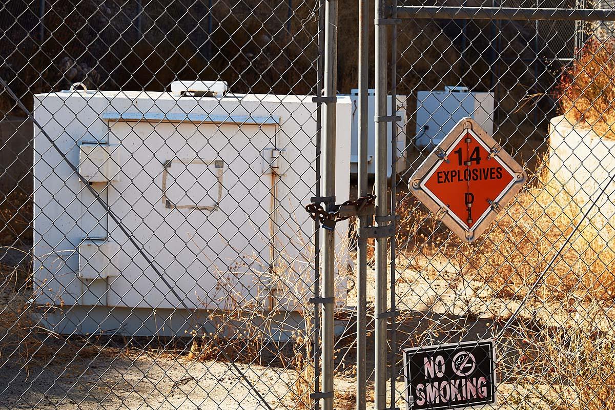 Explosives Containers – Whittaker-Bermite Site – Santa Clarita, CA – 2017  | Osceola Refetoff
