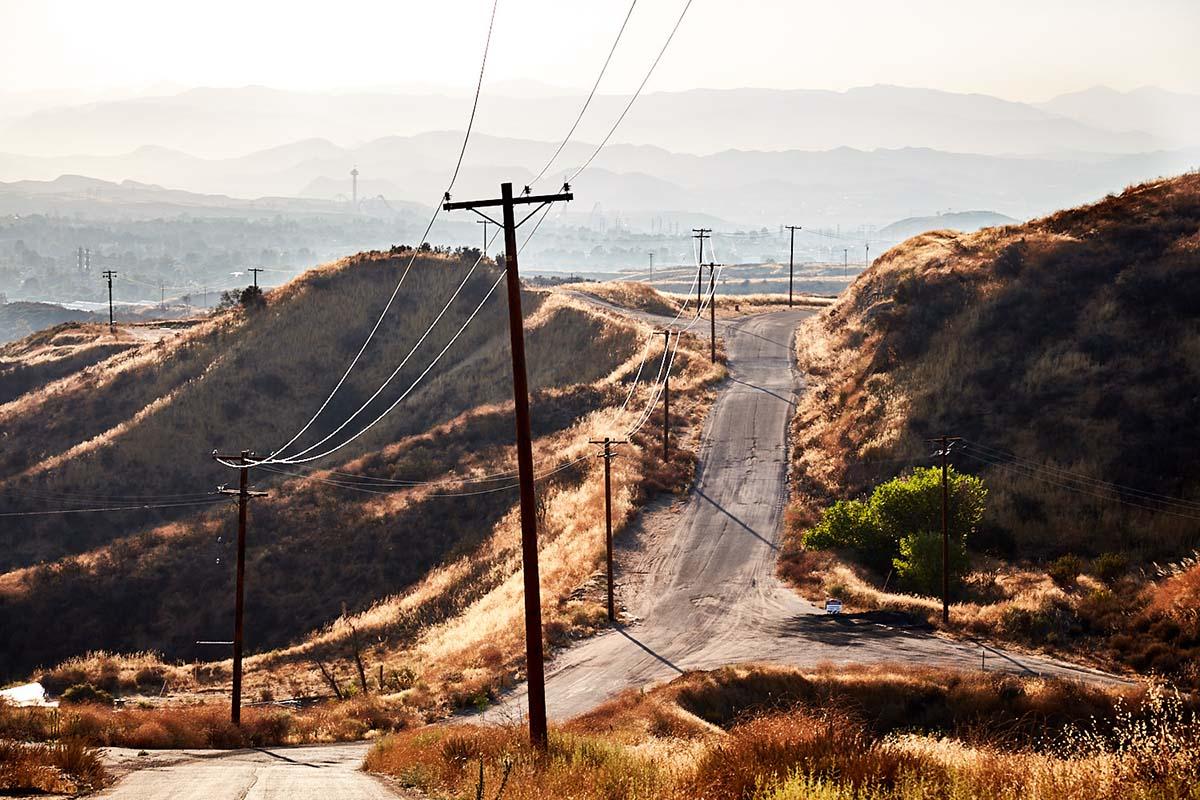 Hilltop View Facing Northwest – Whittaker-Bermite Site – Santa Clarita, CA – 2017 | Osceola Refetoff