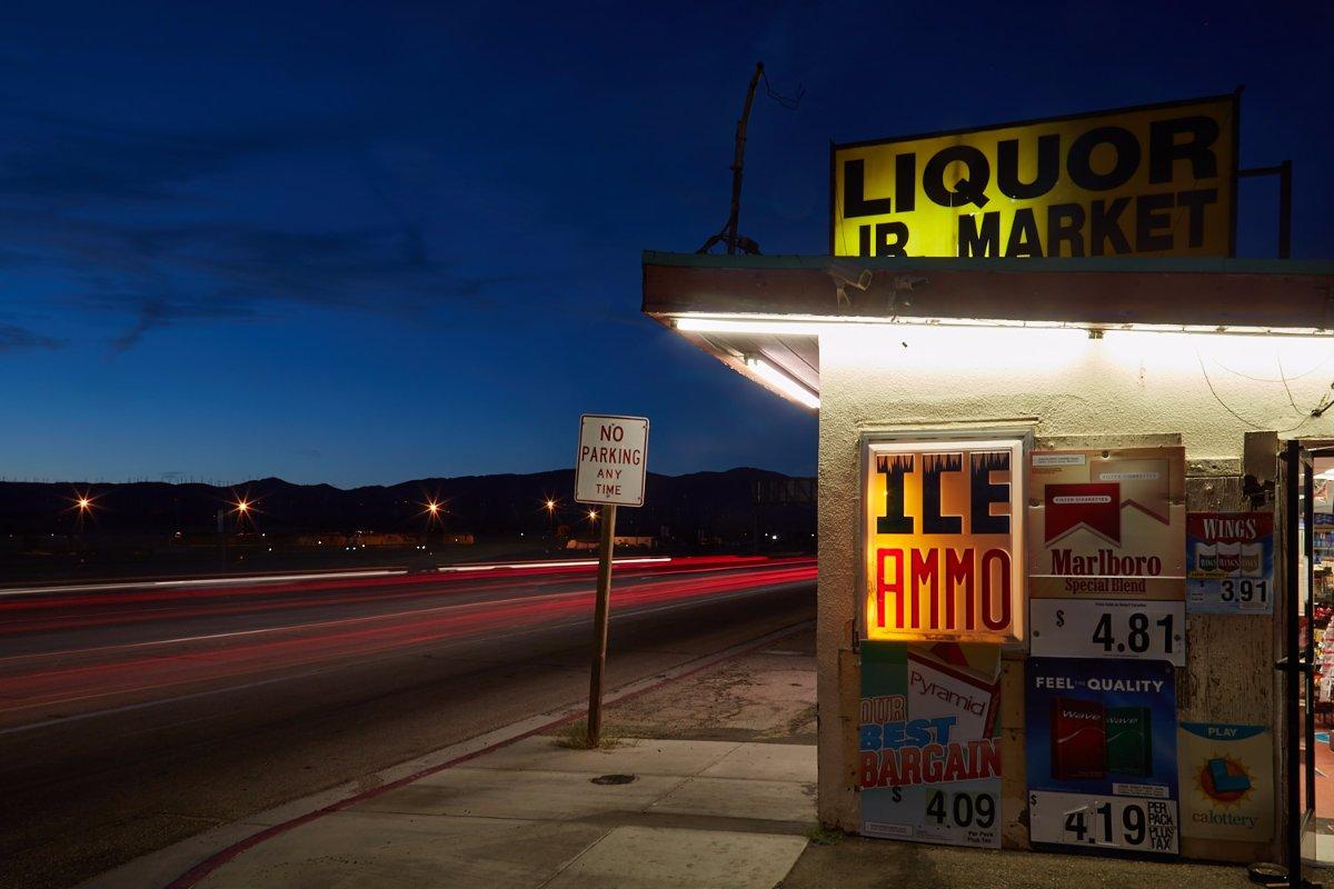 ICE/AMMO – Night No.1 – Mojave, CA – 2016 | Osceola Refetoff
