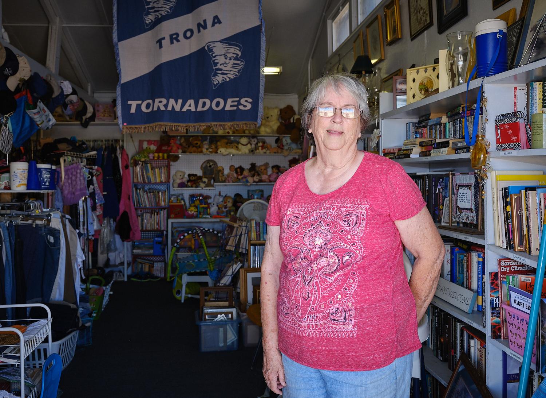 Linda Funke, Thrift shop, Trona, Ca. | Osceola Refetoff
