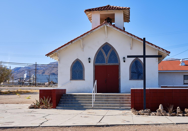 Trona Community Church, Trona, Ca. | Osceola Refetoff