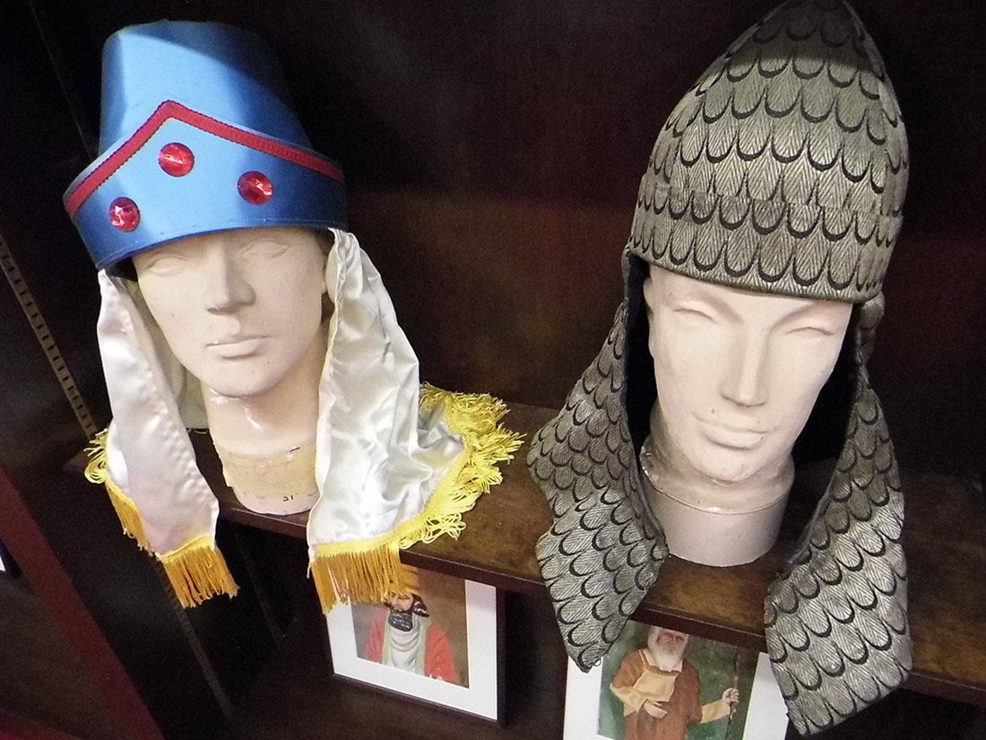 Memorabilia inside the Relic Room | Sandi Hemmerlein