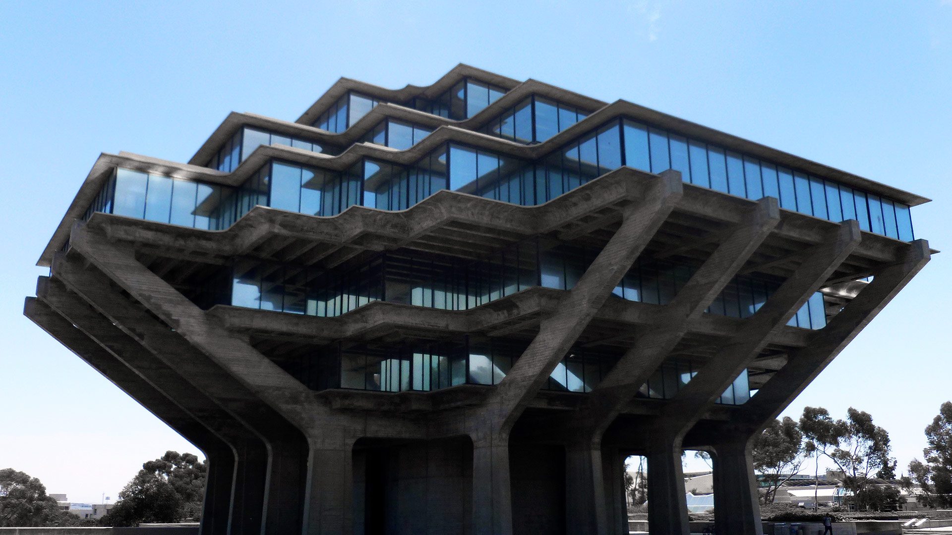 William Pereira's Geisel Library | Sandi Hemmerlein