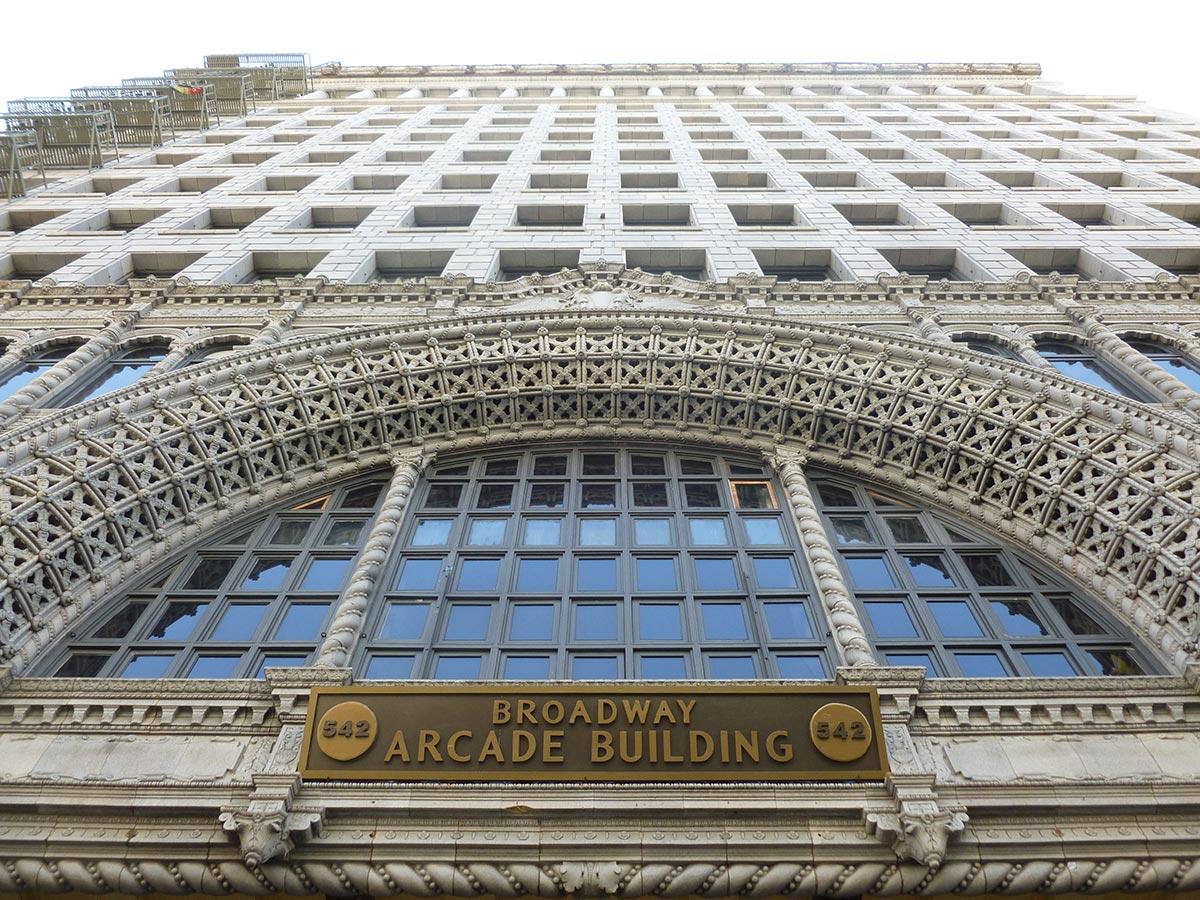 Broadway-Spring Arcade Building exterior. | Sandi Hemmerlein