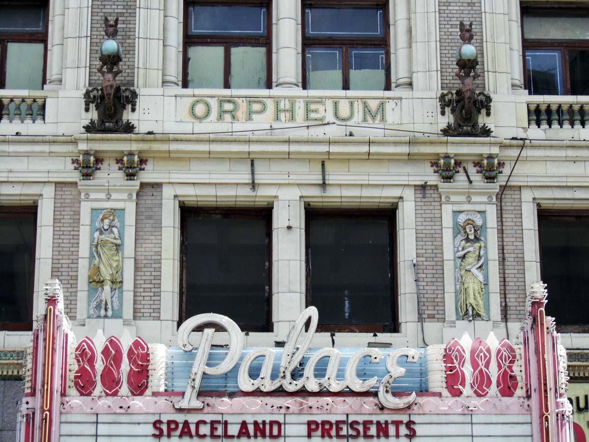 The Palace Theatre exterior detail. | Sandi Hemmerlein