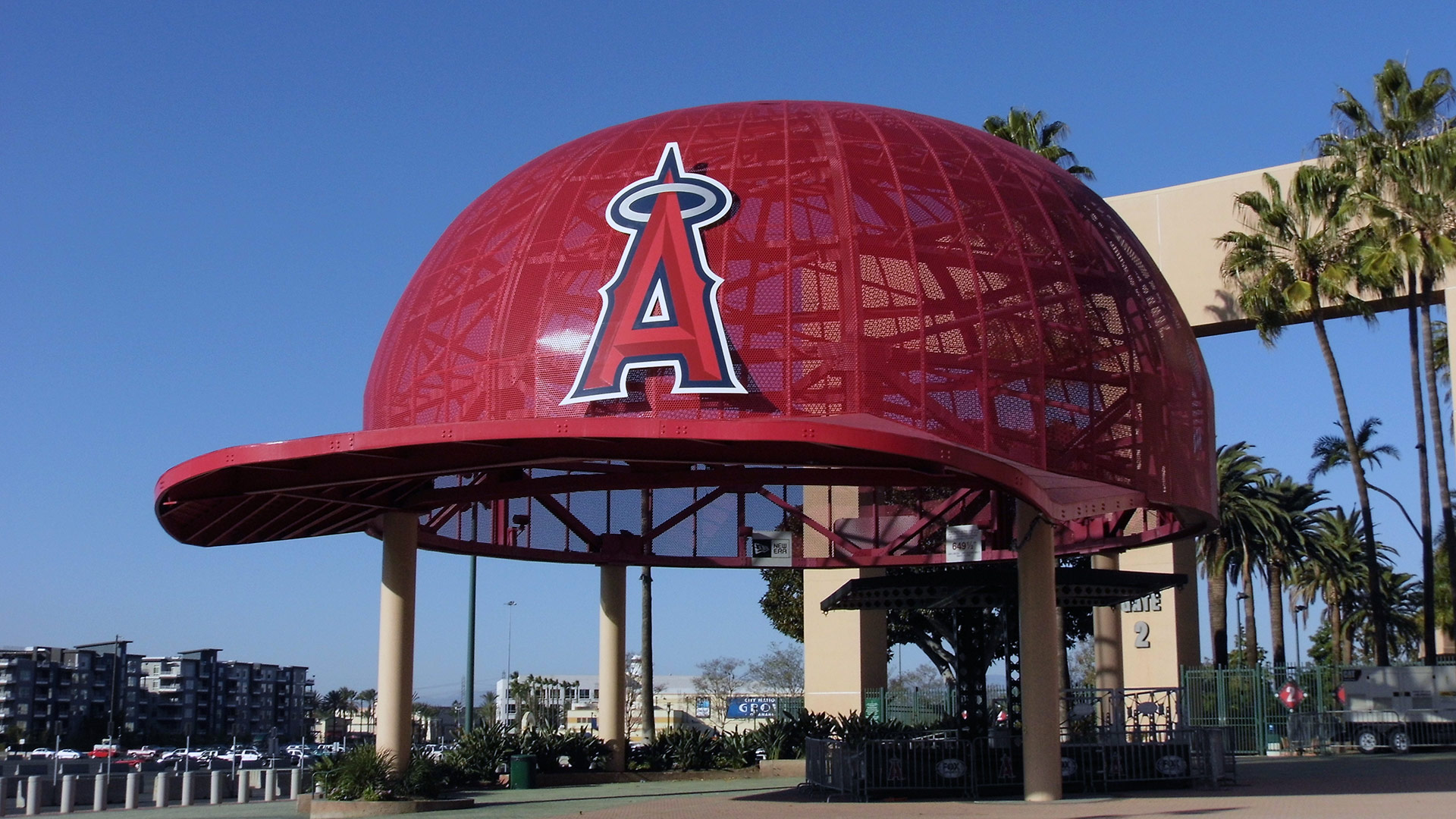 An entrance to Angel Stadium | Sandi Hammerlein