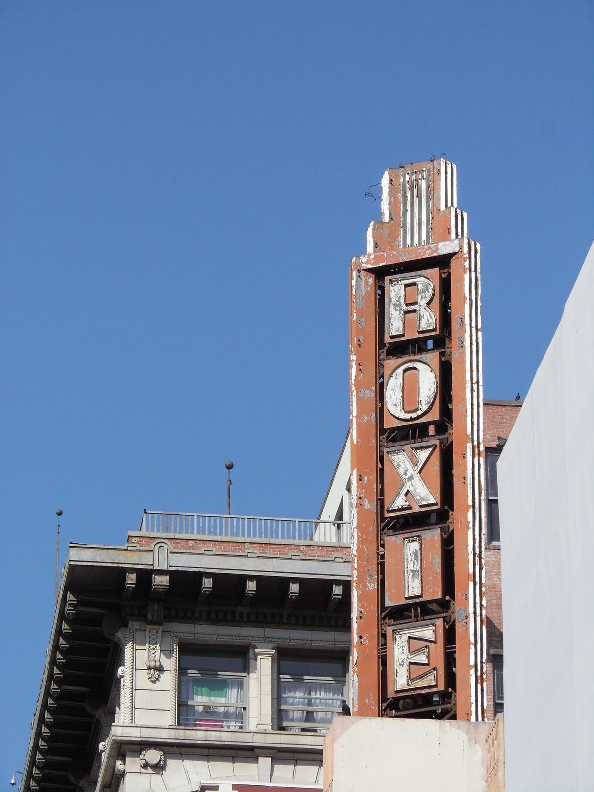 Roxie Theatre exterior. | Sandi Hemmerlein