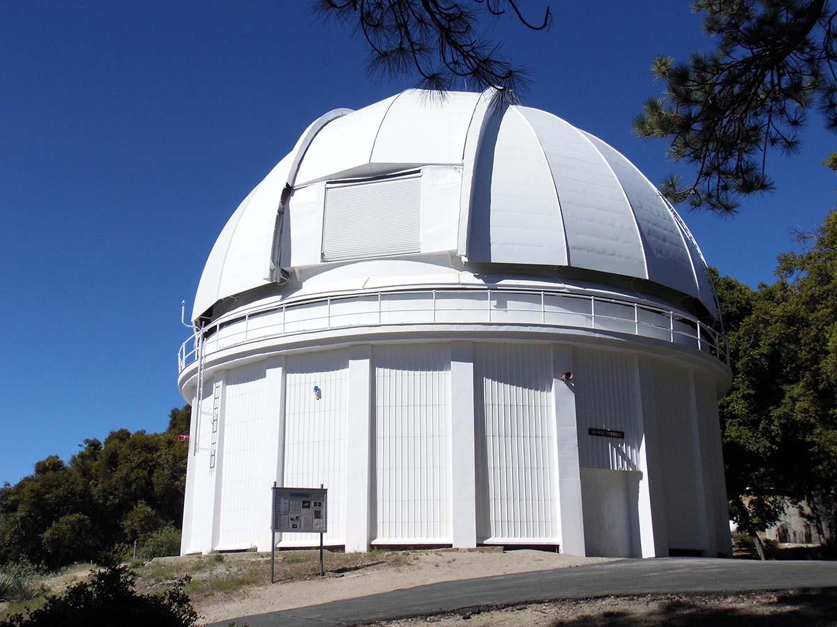 The 60-inch telescope at Mount Wilson Observatory | Sandi Hemmerlein