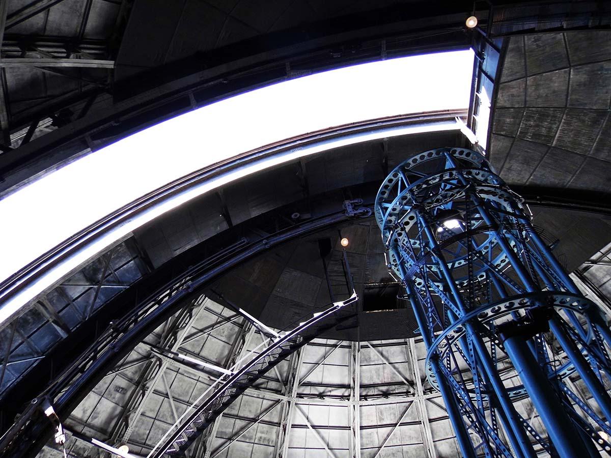 The 100-inch Hooker Telescope at Mount Wilson Observatory | Sandi Hemmerlein
