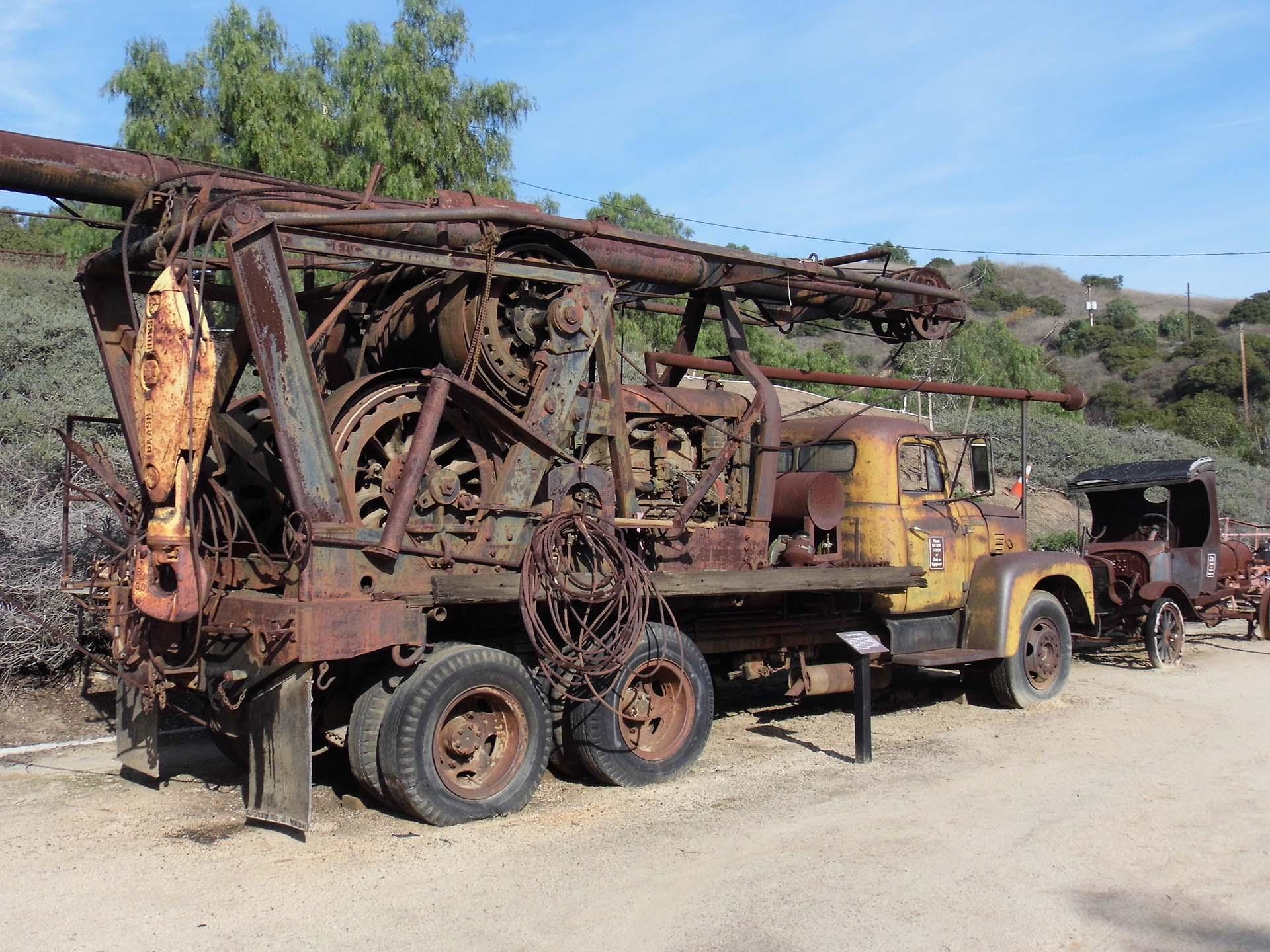 An old Ford Model T in the Olinda Oil Museum | Sandi Hemmerlein