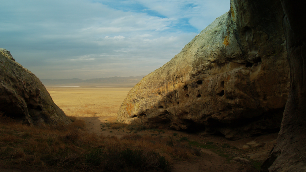 View of Carrizo Plain from Painted Rock cultural area | Photo: Anne Stahl/iStockPhoto