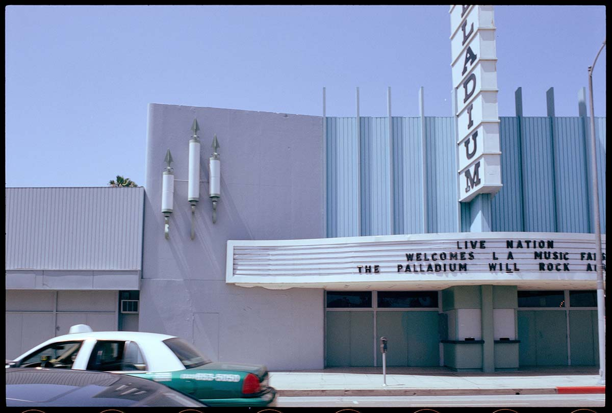 The Palladium, 2007 | From the Streets of Los Angeles Archive. The Getty Research Institute, 2012.M.1. © Ed Ruscha
