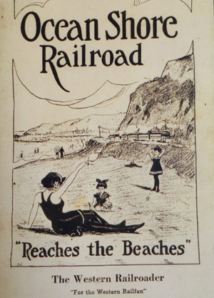 pamphlet for ocean shore rail
