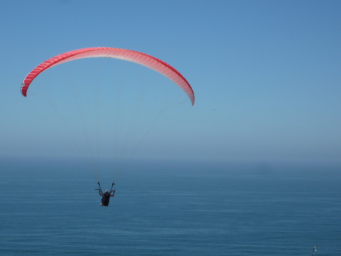 Paragliding at Torrey Pines Glideport (1)