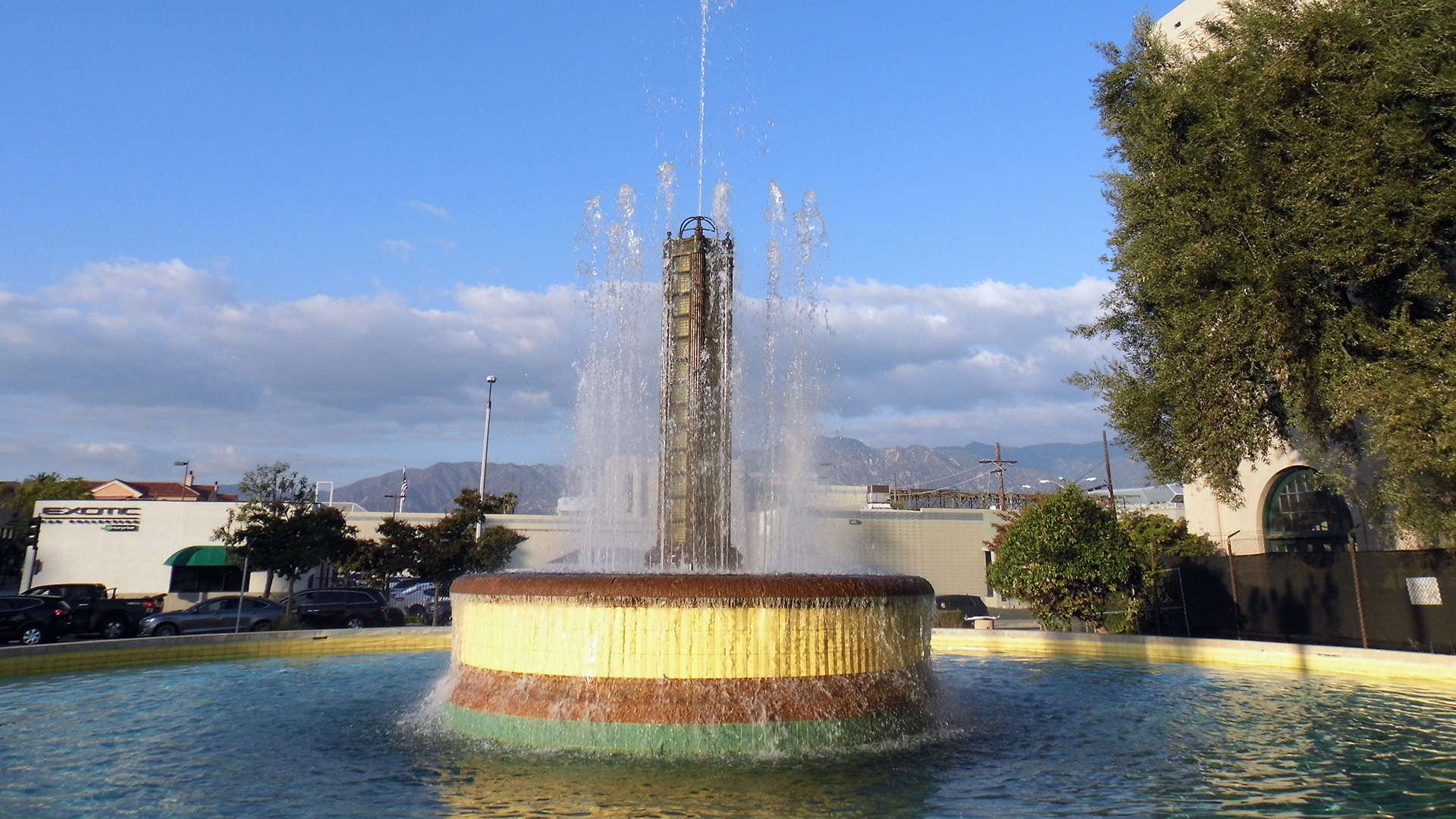 Electric Fountain, Glenarm Power Plant