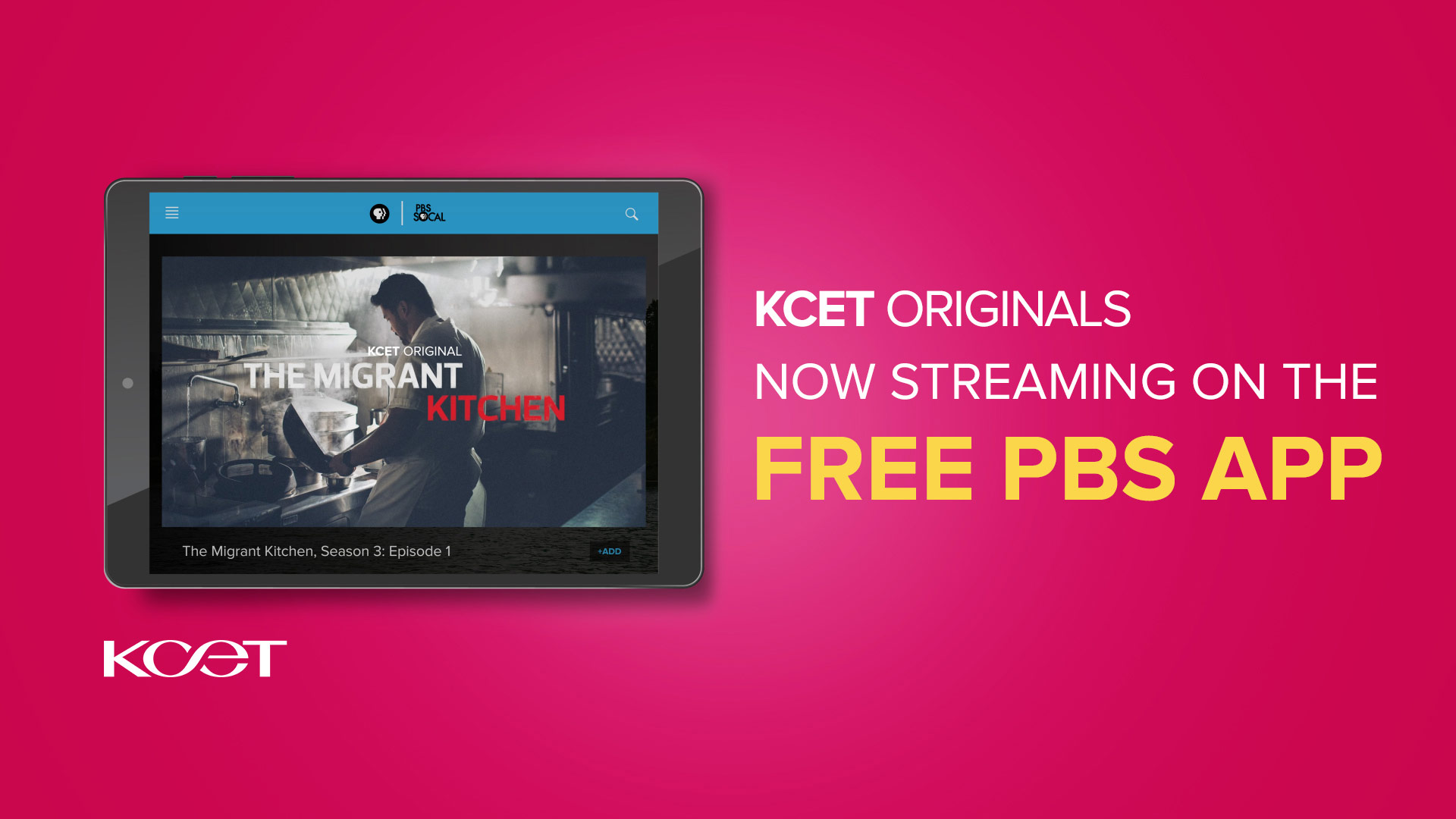 KCET Originals - Now Streaming on the Free PBS App