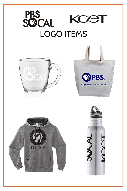 PBS SoCal | KCET Logo Items