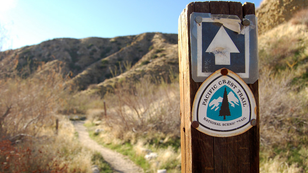 PCT trail marker | Photo: Matt Artz, some rights reserved