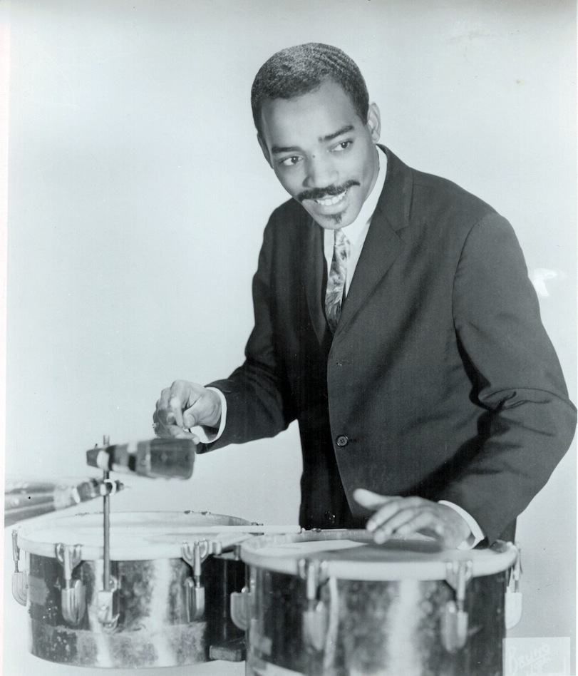 Photo of percussionist Willie Bobo