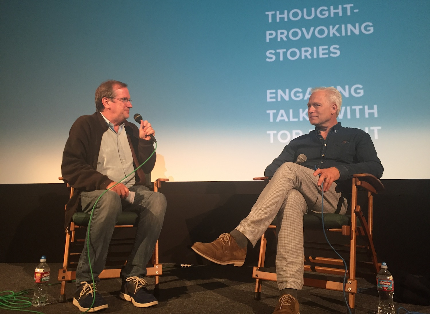"Pete Hammond and ""A Man Called Ove"" Director Hannes Holm"