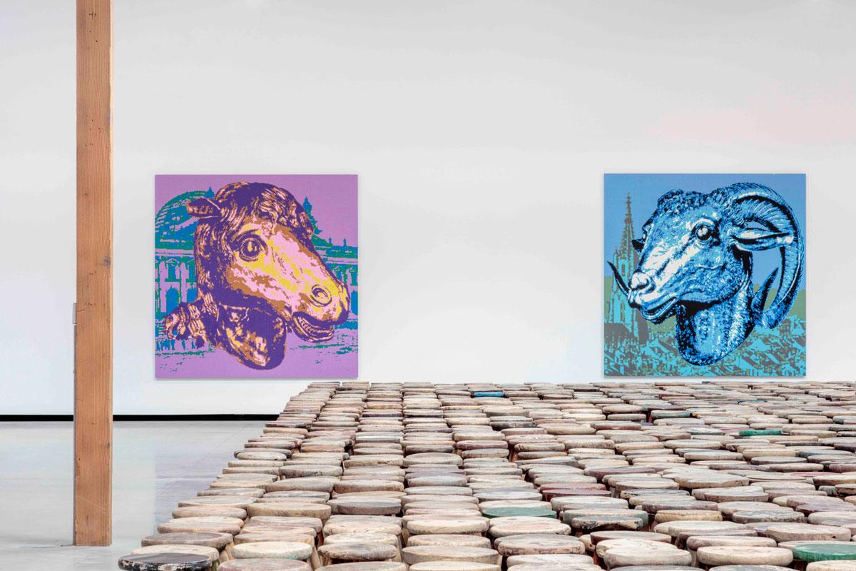 "Ai Wei Wei's ""Zodiac"" exhibition at Jeffrey Deitch, Los Angeles | Joshua White"
