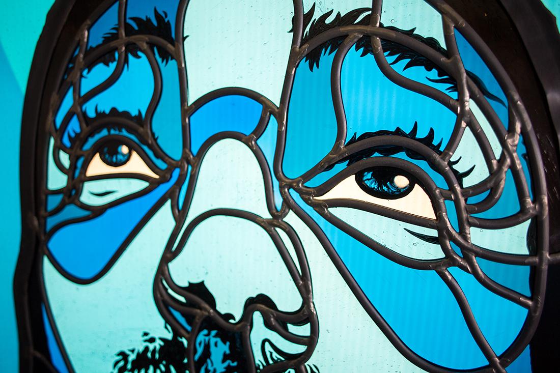 David Flores piece | Courtesy of Judson Studios