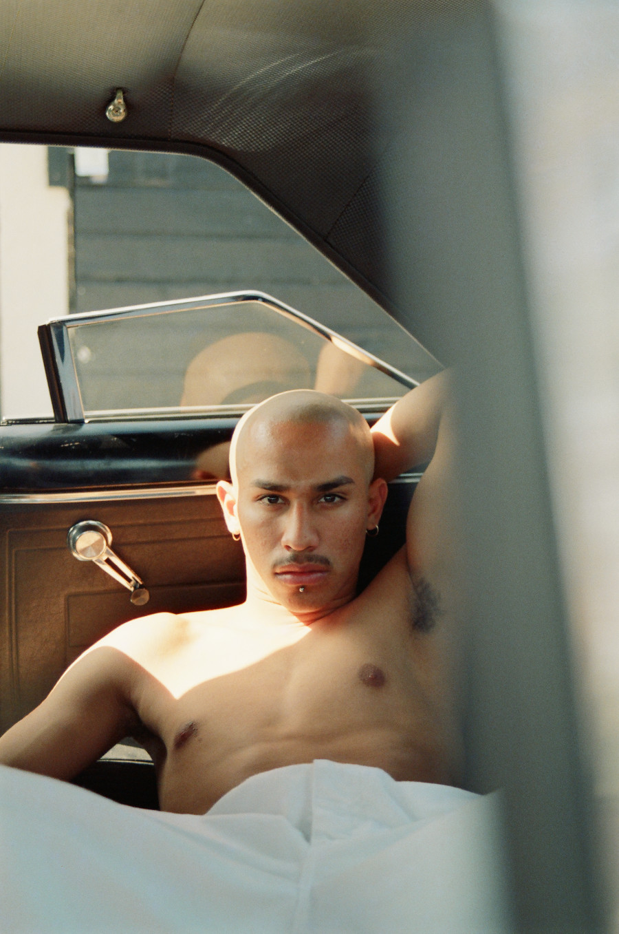 "Photo by Dino Dinco, from the series ""Chico."""