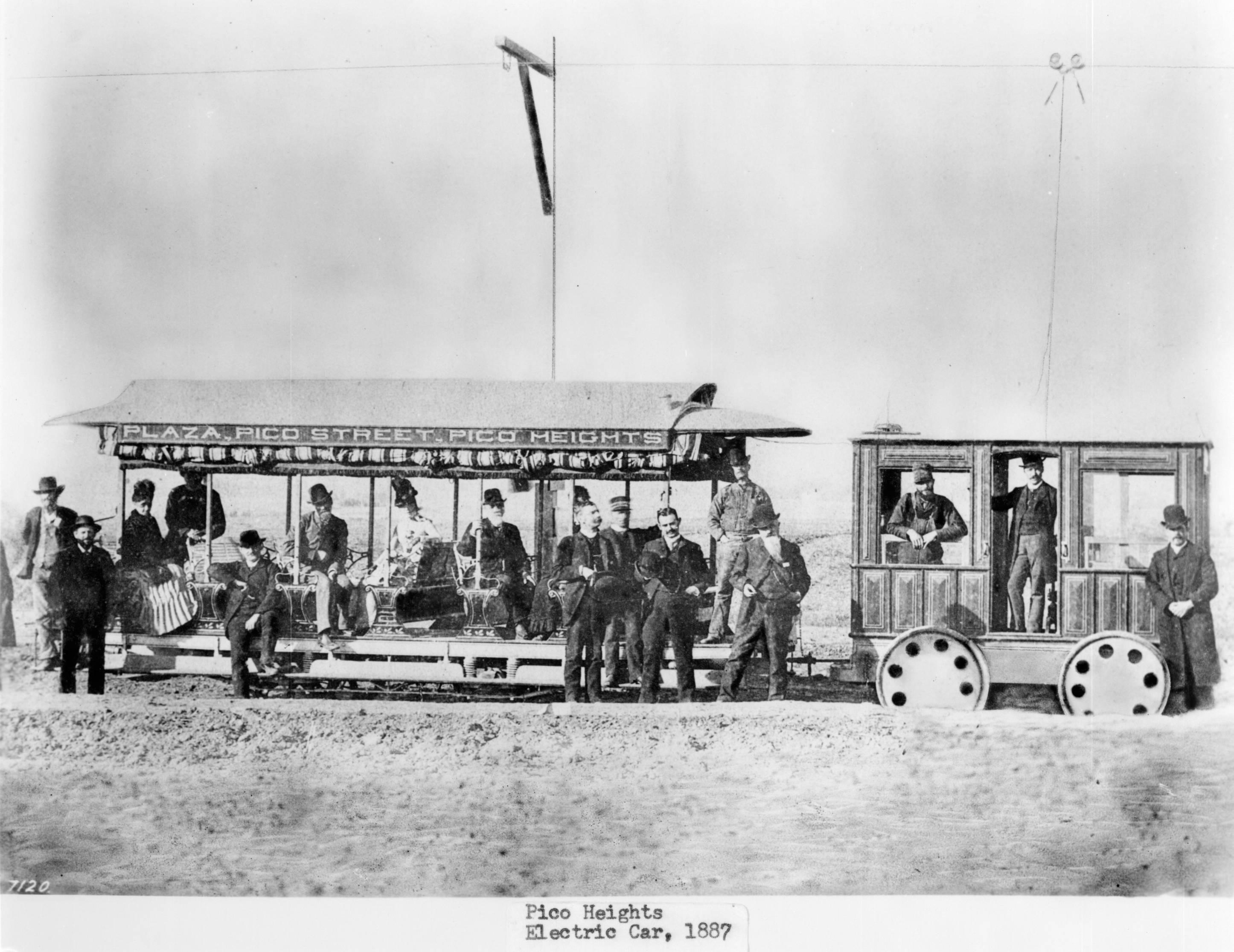 Pico Heights rail car