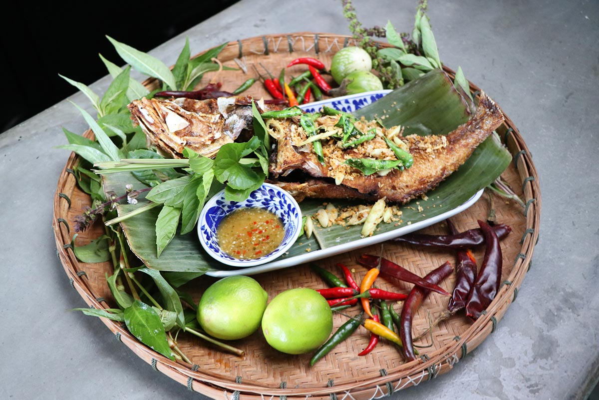 Pla Gra-taem (Garlic Fish) from Chao Krung | Courtesy of Chao Krung