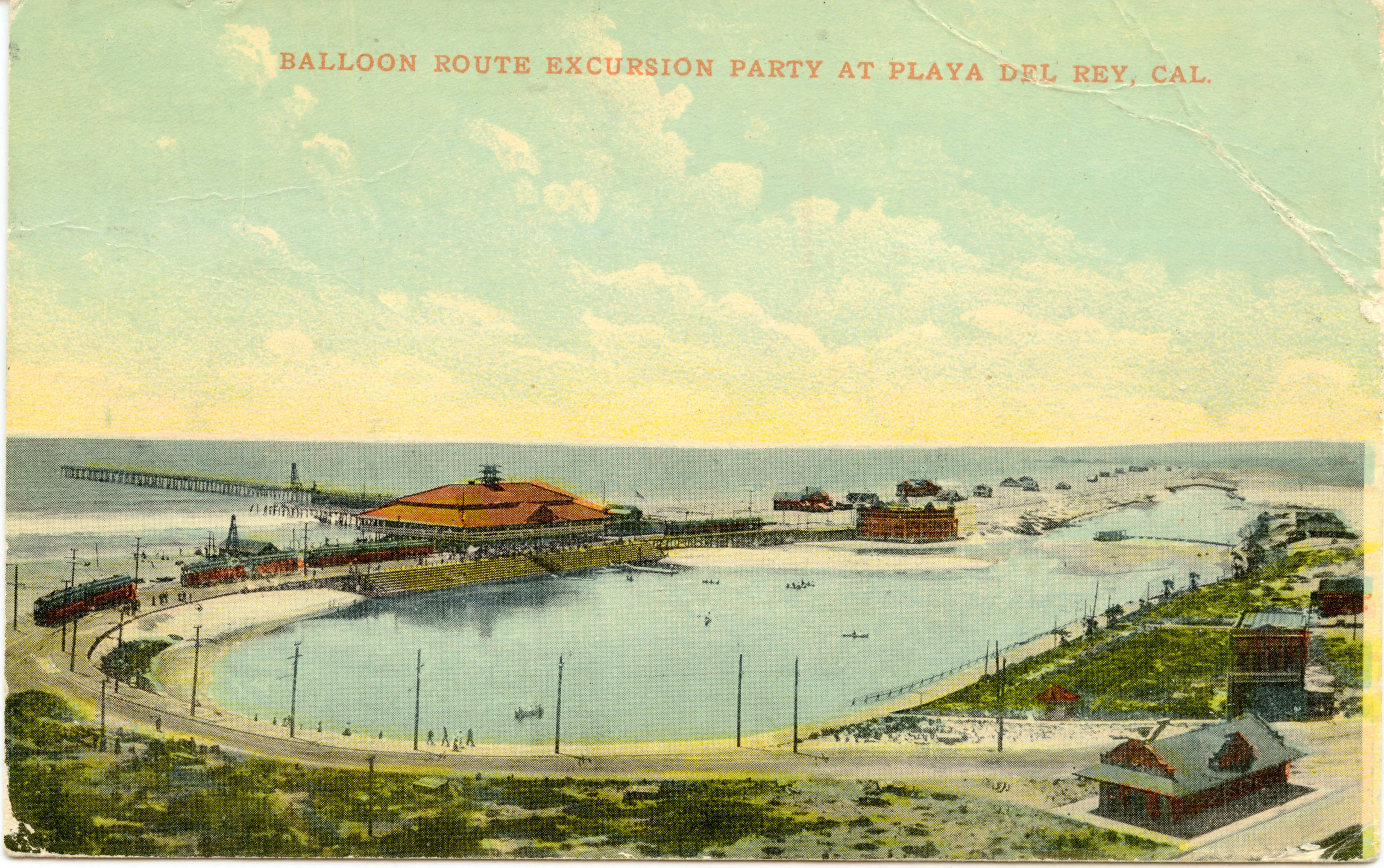 A Balloon Route excursion at the Playa del Rey Pavilion
