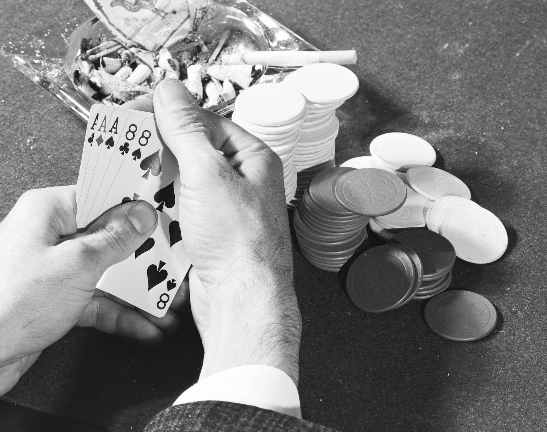 Poker Hand, 1960