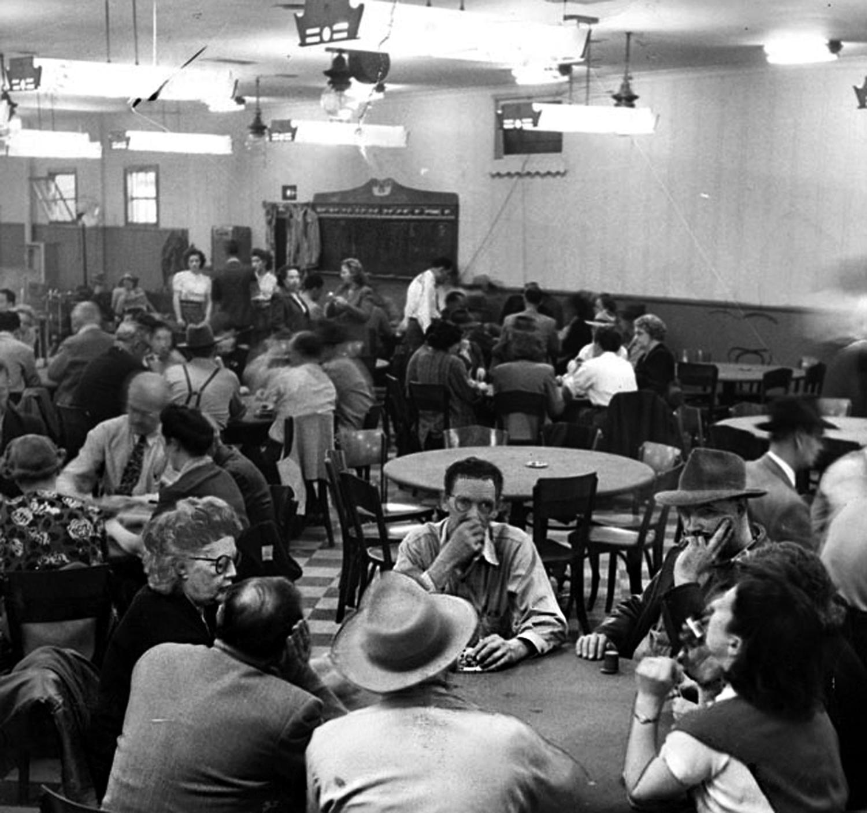 Poker palace, 1952
