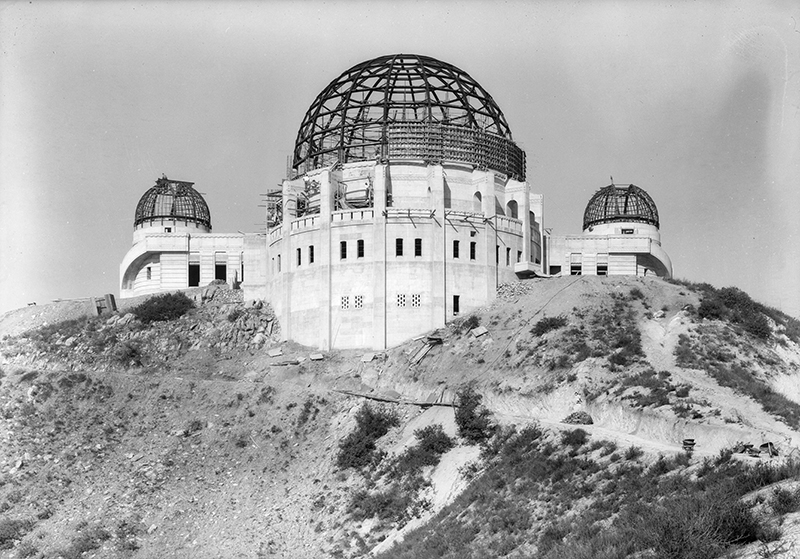 Progress of Griffith Park Observatory | Dick Whittington Photography Collection,1924-1987, University of Southern California Libraries