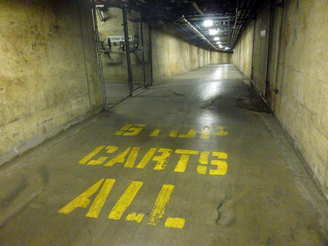 Prohibition: tunnels