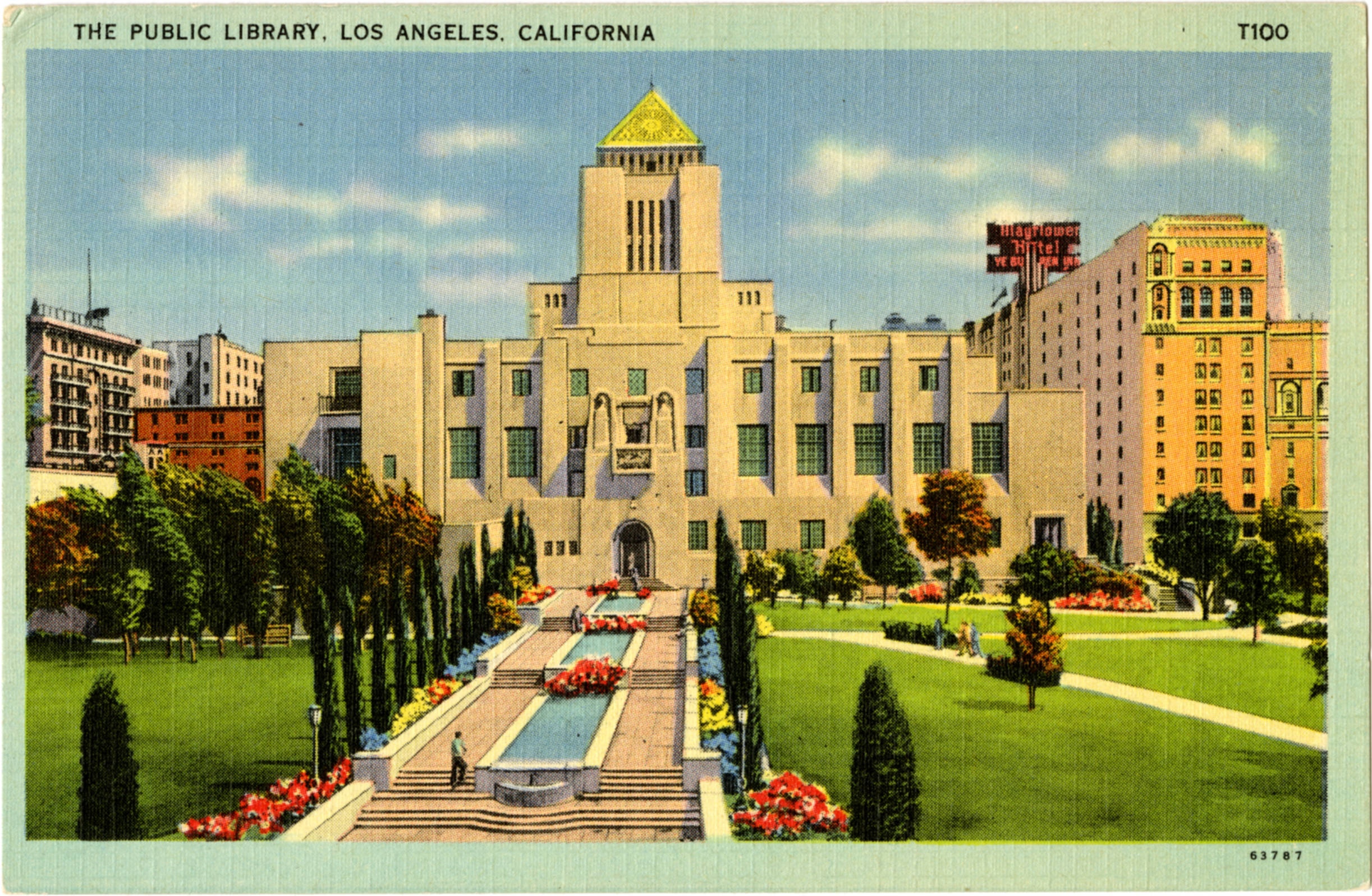 Image result for central library los angeles today photos