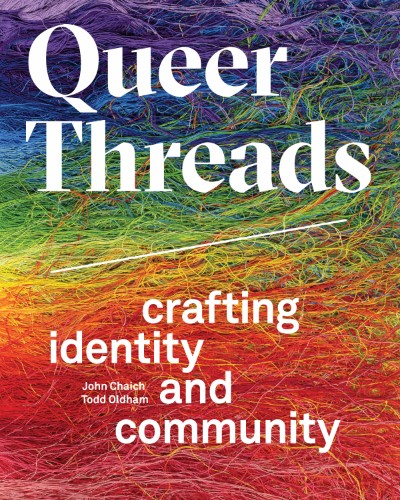 """""""Queer Threads"""" book cover 