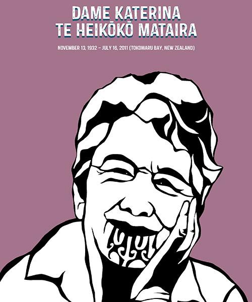 Rad Women: Dame Katerina Te Heikōkō Mataira